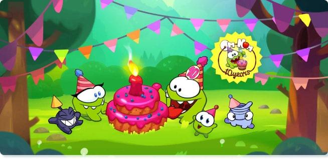 Om Nom Cartoons | Om Nom Stories | Slider image for Kids TV Shows & Nursery Rhymes | KidsBeeTV Safe Kiddies Video App | Best Cartoons for kids, baby songs, stories for toddlers, Fun tv shows for kids | safe utube for kids