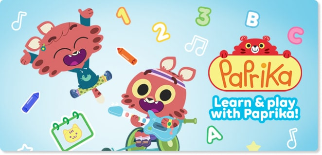 Paprika | Best cartoons for kids | Slider image for Kids TV Shows & Nursery Rhymes | KidsBeeTV Safe Kiddies Video App | Kids fun Videos | educational video content | safe utube for kids