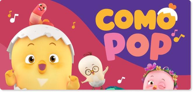 Slider image for Kids TV Shows & Nursery Rhymes | KidsBeeTV Safe Kiddies Video App | Kids fun Videos | Como Pop Kids Songs | educational video content