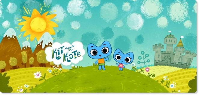 kit n kate | TV shows for Kids | Kids Songs | Baby Songs | Slider image for Kids TV Shows & Nursery Rhymes | KidsBeeTV Safe Kiddies Video App | Best Cartoons for kids | kids stories | safe utube for kids