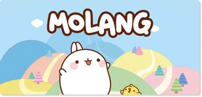 Molang | Slider image for Kids TV Shows & Nursery Rhymes | KidsBeeTV Safe Kiddies Video App | Best Cartoons for kids, baby songs, kiddies stories | safe utube for kids