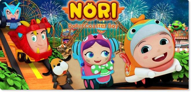 Nori | Slider image for Kids TV Shows & Nursery Rhymes | KidsBeeTV Safe Kiddies Video App | Best Cartoons for kids, baby songs, kiddies stories | safe utube for kids