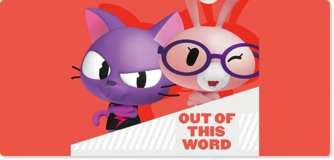 Out of This Word | Best Cartoons for Kids | Slider image for Kids TV Shows & Nursery Rhymes | KidsBeeTV Safe Kiddies Video App | Kids fun Videos | educational video content | safe utube for kids