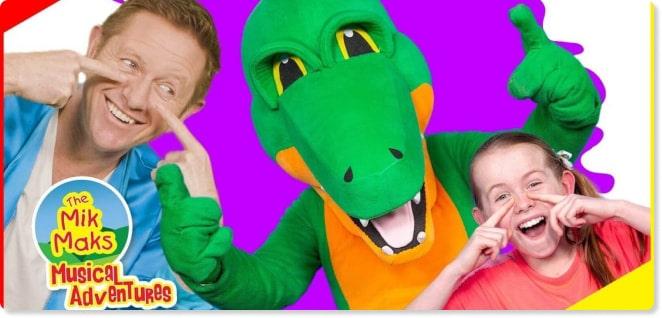 The Mik Maks | Baby Songs and kids songs | Slider image for Kids TV Shows & Nursery Rhymes | KidsBeeTV Safe Kiddies Video App | Best Cartoons for kids, kiddies stories | safe utube for kids