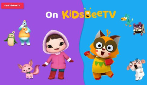 3d animated tv shows T Pang Rescue and Kioka are on KidsBeeTV