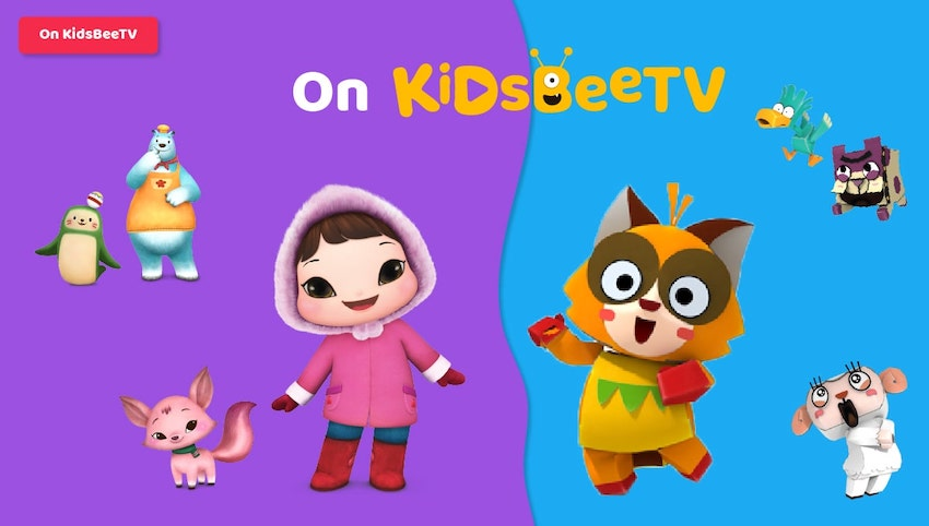 Featured Image Blog Article | 3d Animated TV Shows | T Pang Rescue and Kioka on KidsBeeTV | animated shows | 3d tv shows | 3d animated shows | Kioka and T Pang Rescue