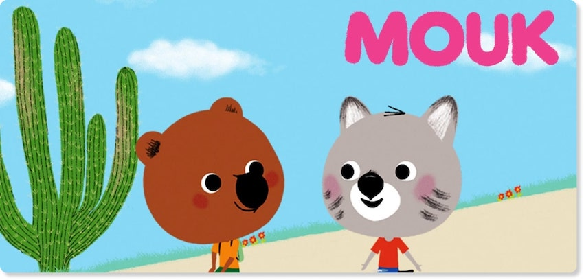 About Mouk Animated series Section Image | Animation Studio Millimages inked a large deal with KidsBeeTV | millimages molang | millimages shows | Molang | 64 Zoo Lane | Louie Cartoon | Mouk and Chavapa
