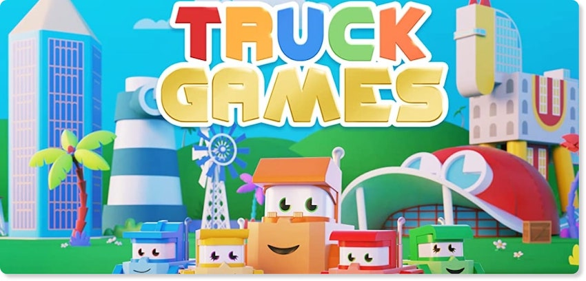 About truck games Section Image | Animation Studio Millimages inked a large deal with KidsBeeTV | millimages molang | millimages shows | Molang | 64 Zoo Lane | Louie Cartoon | Mouk and Chavapa