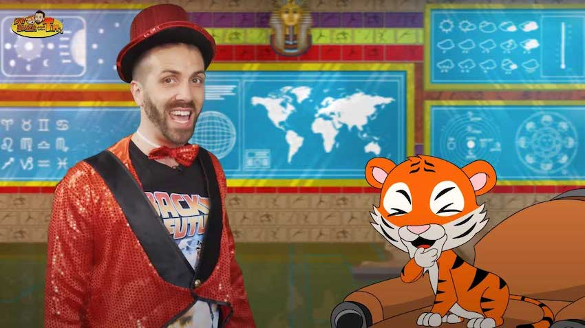 Blog Article Image Section | Blog Article Image | Educational shows for kids | Cute Tiger and Tim is on KidsBeeTV | education shows for kids | educational shows for toddlers | educational kids shows | kids educational show