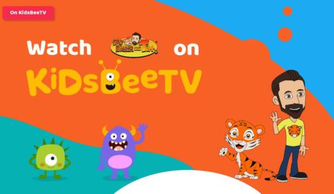 Roar for educational shows for kids! Tiger and Tim is on KidsBeeTV