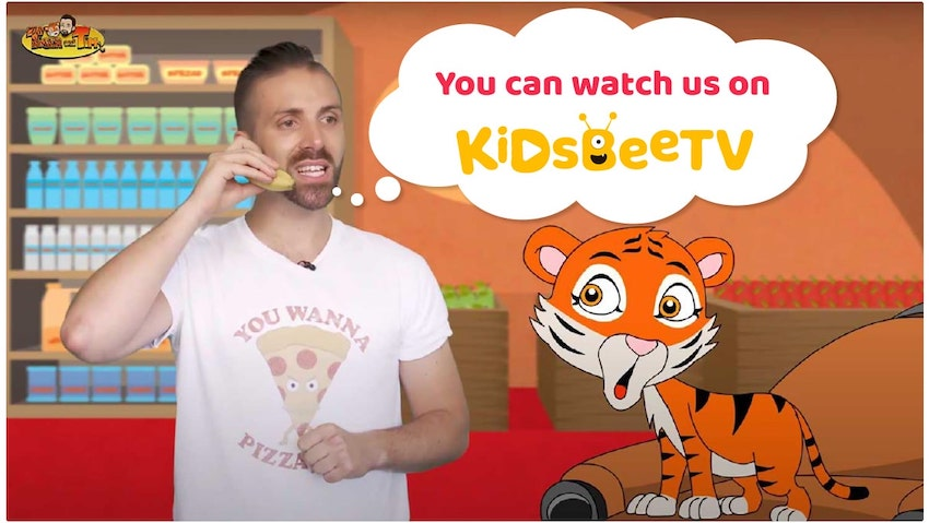Blog Article section Image | Blog Article Image | Educational shows for kids | Cute Tiger and Tim is on KidsBeeTV | education shows for kids | educational shows for toddlers | educational kids shows | kids educational show