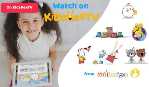 KidsBeeTV inked a large deal with the animation studio Millimages
