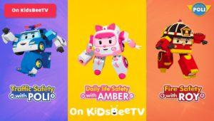 Featured Image Watch Robocar Poli, Roy and Amber on KidsBeeTV safe video app | Poli Cartoon | Parents & Kids Blog Article | utube kids | safe utube | KidsBeeTV Blog