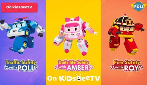 Watch Robocar Poli, Roy and Amber on KidsBeeTV safe video app