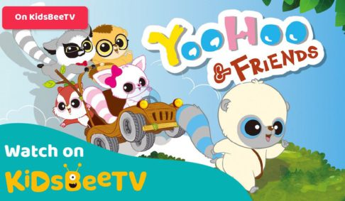 Your kids can now watch YooHoo and Friends on KidsBeeTV