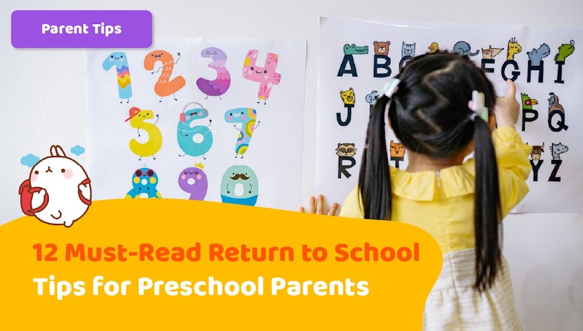 Featured Image blog article | blog article image | 12 Must-Read Return to School Tips for Preschool Parents | KidsBeeTV | return to school | go back to school | returning to school | back to schools | kids going back to school