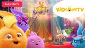 Sunny Bunnies are now shining on KidsBeeTV | Featured Image Parents & Kids Blog | sunny bunny | shiny sunny bunnies | bunnies cartoons | Sunny Bunnies Bubbles