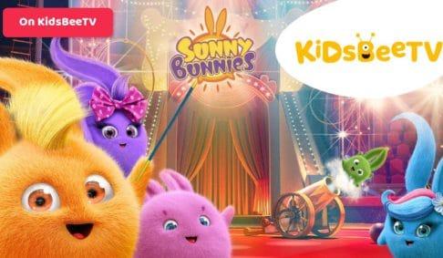 Sunny Bunnies are now shining on KidsBeeTV