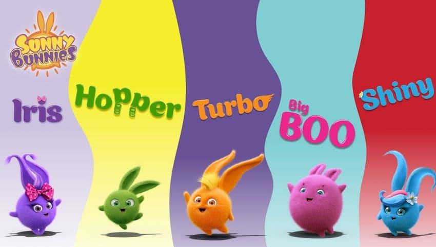 Sunny Bunnies are now shining on KidsBeeTV | Post image Parents & Kids Blog | sunny bunny | shiny sunny bunnies | bunnies cartoons | Sunny Bunnies Bubbles