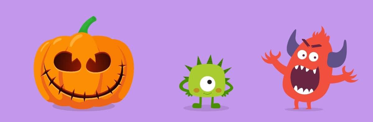 Stitchface Pumpkin Design | 4 Fun Last Minute Pumpkin Designs for Halloween 2021 | KidsBeeTV | cool pumpkin designs | designs for a pumpkin