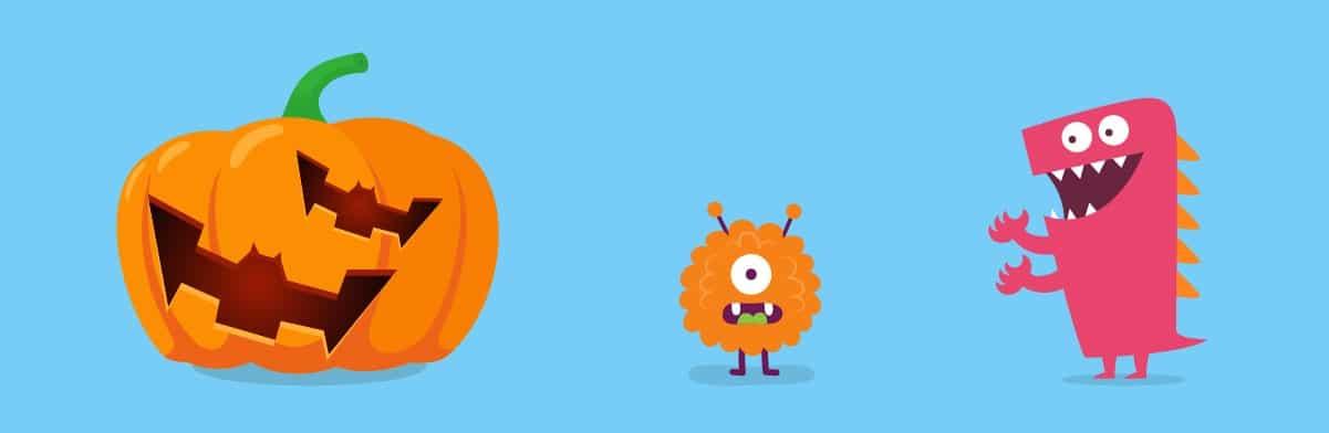 Bat Pumpkin Design | 4 Fun Last Minute Pumpkin Designs for Halloween 2021 | KidsBeeTV | cool pumpkin designs | designs for a pumpkin