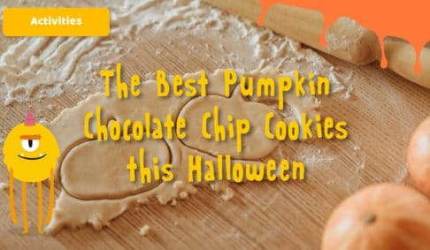 The Best Pumpkin Chocolate Chip Cookies this Halloween